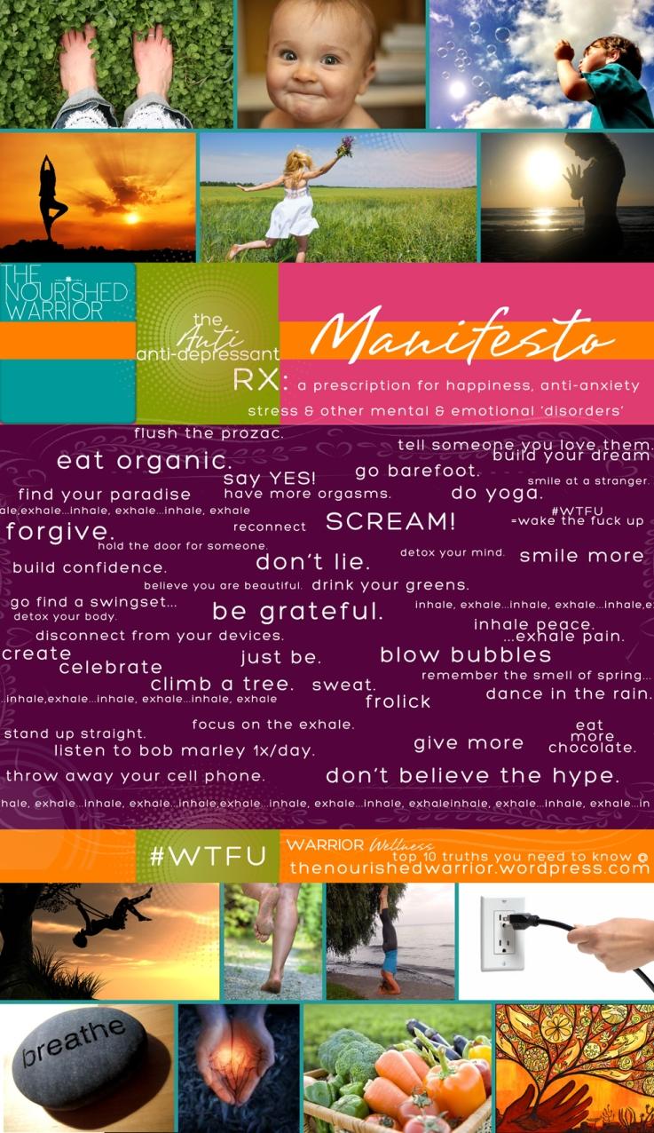 theanti-anti depressant manifesto
